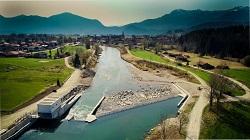 Schachtwasserkraftwerk Großweil