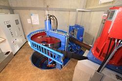 Restwasserturbine